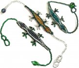 Small Lizard Bracelets - Assorted
