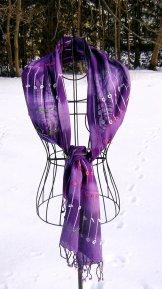 Scarf - Loop the Loop - Purple