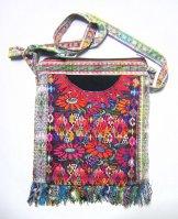 Huipil Bag -  Medium Square Chichicastenango  Flower 11 ***SOLD***
