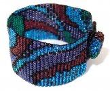Milan Wave Woven Bracelet - Dusk