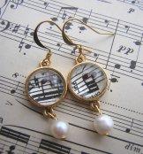 Symphony Earrings - Gold