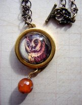 Owl Necklace - Gold
