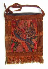 Huipil Bag -  Large Square Chichicastenango   Birds ***SOLD***