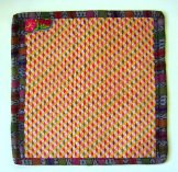 Huipil Pillow Cover - Pattern 8