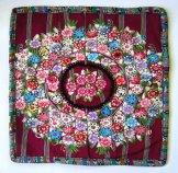 Huipil Pillow - Patzun Flowers 5 ***SOLD***