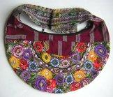 Huipil Crescent Bag - Patzun Flowers 10 ***SOLD***
