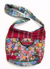 Huipil Bag -  Patzun Market Bag Flowers 4 ***SOLD***