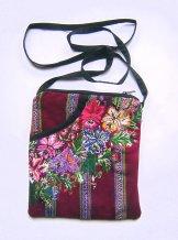 Huipil  -  Pocket Bag  Patzun Flowers 16 ***SOLD***