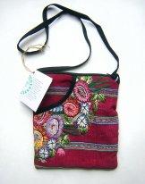 Huipil  -  Pocket Bag  Patzun Flowers 17 ***SOLD***