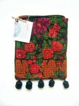 Huipil - Pocket Bag Flowers & Squirrels ***SOLD***