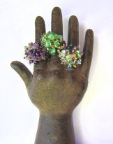 Stone Cluster Rings - Assorted