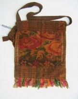 Huipil Bag -  Medium Square Chichicastenango Rust Rose 7