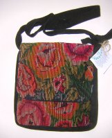 Huipil Tapestry Bag - Chichicastenango Roses 9