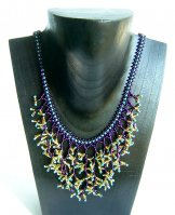 Seaweed Necklace - Assorted Turquoise Tips