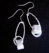 Silver Earring - Knot