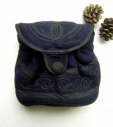 Mont Royal Little Slouch Bag - Navy