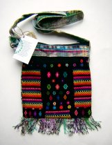 Huipil Bag - Small Square Chichicastenango Pattern 6 ***SOLD***