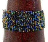Medium Woven Bracelet - Starry Night Tweed