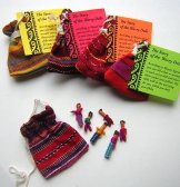 Worry Dolls - Pouch with 6
